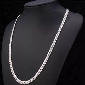Other - New 18K Real White Gold Plated Necklace